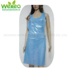 Protettivi personali impermeabilizzano i grembiuli a gettare materiali 100% del Virgin PE/LDPE/Plastic