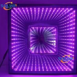新しい無線無限ミラー3Dのトンネル魔法LEDのダンス・フロア50X50cm