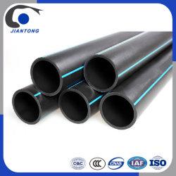Фабрику и пластмассовую трубку подачи воды HDPE трубы с черным