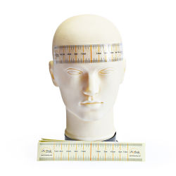As medições de descartáveis profissional sobrancelha Microblading régua transparente colante