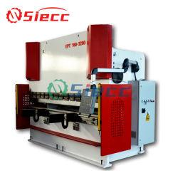 手頃な価格のマニュアルシートベンディングマシン We67K シリーズ電気油圧式 サーボ CNC 同期垂直プレス