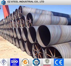 Boîtier en acier au carbone soudé restes explosifs des guerres de tuyau, LSAW, tuyau de pipe-line de l'eau SSAW (API 5L LSIP1/LSIP2,ASTM A252, EN10219, AWWA C200, ASTM A53, BS, JIS)