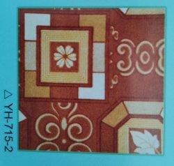 Tecidos de poliéster impresso Carpet, Tapete de impressão,