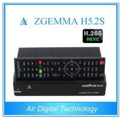 Nuovi migliori sintonizzatori gemellare doppi di OS E2 H. 265/Hevc DVB-S2+S2 di Linux di memoria della ricevente satellite di Zgemma H5.2s FTA di vendita