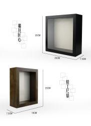 중국 공장 4x6 5x7 6X8 8x10 A4 크기 목재 PS MDF 미니 마그네틱 사진 액자