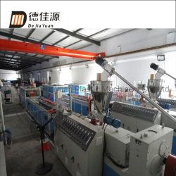 PVC/PE hölzernes Plastikmöbel-Panel/Profil-Strangpresßling-Produktions-Maschinerie WPC