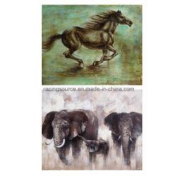 Pintura decoración de la pared Impresión de la lona de animales abstracto de la lon