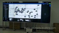 فيديو LCD سلس 46 / 55 '' 2x2 على إطار خارجي رفيع الجدار