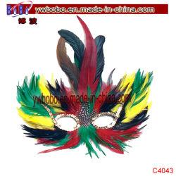 Masque de la fourrure mascarade partie anniversaire fête de mariage en faveur de fournitures (C4043)