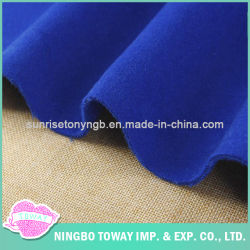Garment filature de laine pure de gros de tissu tissu double
