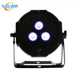 مصباح LED Rgbaw PAR38 CAN 3*15 واط Stage LED par Light DMX إضاءة المرحلة