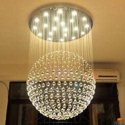 Populaire Enige Lichte LEIDENE van de Tegenhanger van het Kristal van de Bal Kroonluchters voor Decoratie 6002-13 van de Woonkamer