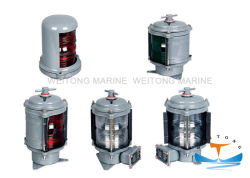 IP56 bateau marine plastique Single-Deck Impressum Navigation/lampe de signal lumineux