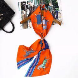 Fascia capa della fascia del pacchetto della sciarpa del nastro della maniglia della borsa dei capelli di seta di modo