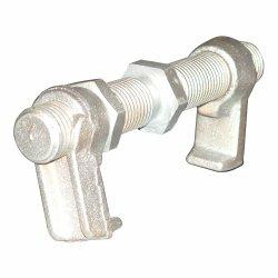 Versandbehälter, der Teil-Behälter-Brücken-passende Behälter-Brücken-Schellen peitscht