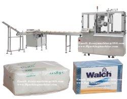 Automatischer Umschlag-Typ Tellersegment-Freie X Falten-Verpackmaschine der Seifen-Gruppen-