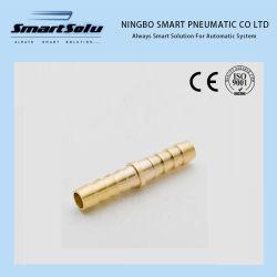 Нинбо Smart двойной зажим шланговый ниппель латунных фитингов шлангов 8 мм разъем