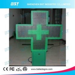 P16 de color verde de la Cruz de farmacia de LED de exterior