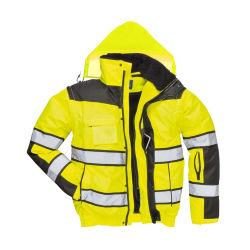 防火効力のある安全反射テープ蛍光働くジャケット