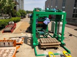 Blocchetto facile del mattone della macchina del blocchetto del cemento della costruzione Qt4-25 che fa macchina