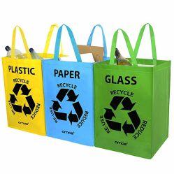 Tecidos de PP laminado grande saco de lixo