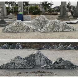 Graue Granit-Garten-Stein-Fluss-Steine, Dekor-Felsen-Fluss-Steine landschaftlich verschönernd