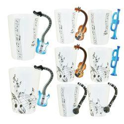 Kundenspezifische Form-eindeutiger keramischer Kaffee-Milch-Musikal-Becher