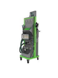 Conjunto de máquinas de lixagem a seco sem pó para a oficina de manutenção de automóveis