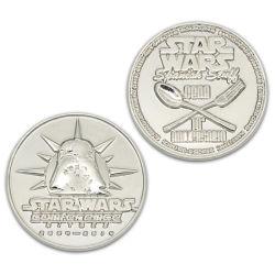 Die Gussform 3D Silver Old Challenge Coin Emoji Factory Medal Frame Schlüsselanhänger Logo