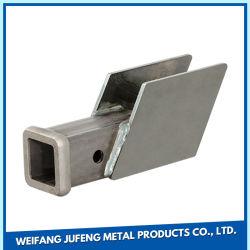 Hoja de Metal piezas fabricadas en acero inoxidable, acero piezas soldadas, doblando y soldando los estantes de almacenamiento