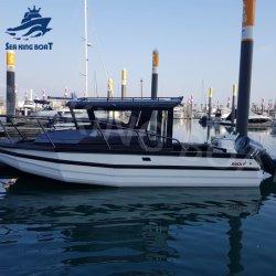 La vente directe d'usine 20FT-30FT qualité Vitesse bateau de pêche de pontons étanche en aluminium