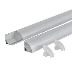 V-Shapeアルミニウムチャネルのプロフィール90° LEDのストリップのための程度の角度