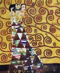 Pittura a olio decorativa di Klimt