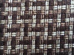 Venta caliente 1.6USD/M Poliéster sofá de diseño de rejilla de tela (S001)