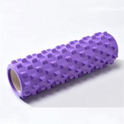 筋肉のための引き込み式の拡張タイプエヴァの練習のマッサージのローラーの棒の格子小型折りたたみヨガの泡のローラー