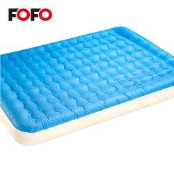 Надувные ПВХ размера кинг просто дважды двухъярусная кровать с насосом
