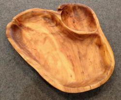 La madera de abeto natural bandeja bandeja de madera de raíz los platos de madera de la decoración del hogar regalos de Navidad para el Año Nuevo