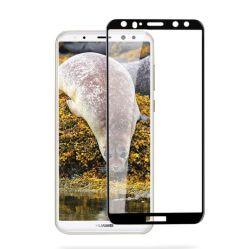واقي الشاشة الزجاجية المُسسلحه ثلاثي الأبعاد لـ Huawei P20 Lite/P30 Lite