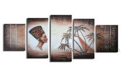 Toile d'art populaire African Art figuratif Peinture d'huile (AR-078)