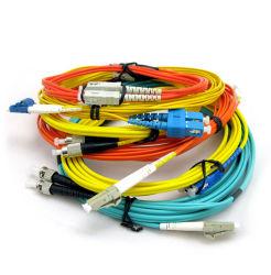 Sc/LC/St/FC Sm/mm Simplex-/Duplexfaser-optische Steckschnür