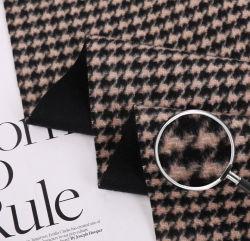 La moda tragar ceñidor 10% Plaid Cashmere 90% de Mezcla de Lana tejido para untar pantalones