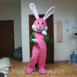 Bugs Bunny lapin rose personnage de bande dessinée Animal Costume mascotte