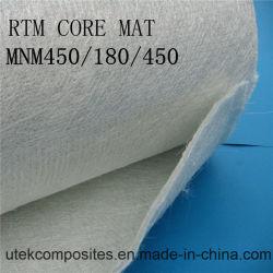 CS450/PP180/CS450 débit en fibre de verre mat pour moule fermé