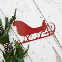 La decoración de Navidad en la pared pared metálica Arte Ornamento de Navidad
