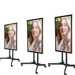 شاشة تليفزيون بث مباشر مزودة بالمصنع مزودة بمصابيح LED من نوع OEM/ODM مقاس 43 بوصة كمبيوتر محمول لأجهزة البث Studio