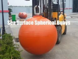 Steel sferico Mooring Buoys, Subsea Surface, Hollow o Foam Filled Available.