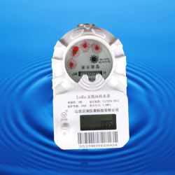 Dn15Medidor de agua de la AMRHigh-Tech Medidor de agua de la casainalámbrica Lora Contador de agua