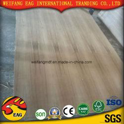 Venta caliente 4*8 fabricado en madera de teca Venner madera contrachapada con precios más bajos