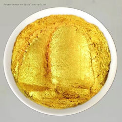 Super Gros éclat de l'or Pearl Pigment pour l'art décoratif de la peinture intérieure
