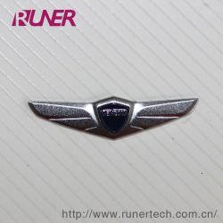 自動車産業のElectroformのニッケルのロゴのステッカーの電気鋳造法